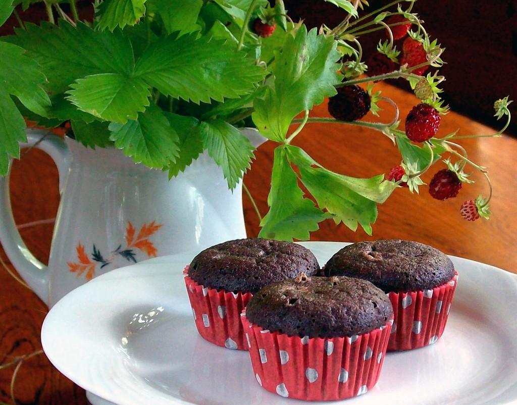 Suklaiset vhh-minimuffinit