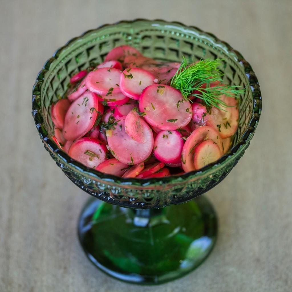 Retiisilisuke; tillillä maustetut retiisit | Alakarpisti.com
