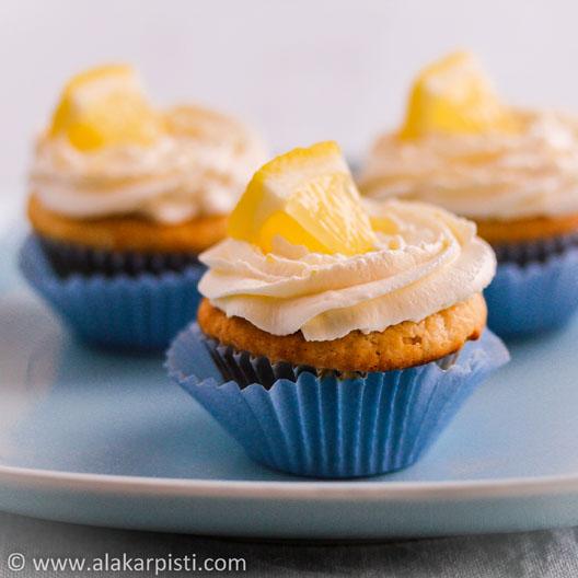 Sitruunainen jogurttikuorrute | Alakarpisti.com