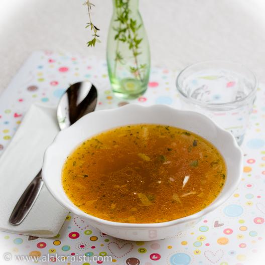 Rasvanpoltto- ja flunssanhäätökeitto tavallisista keittovihanneksista| Alakarpisti.com